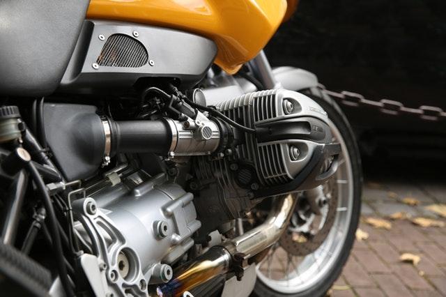 motor zblízka